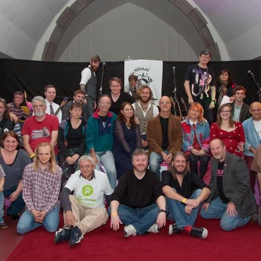 Oxjam Bury St Edmunds 2014 - Team Photo
