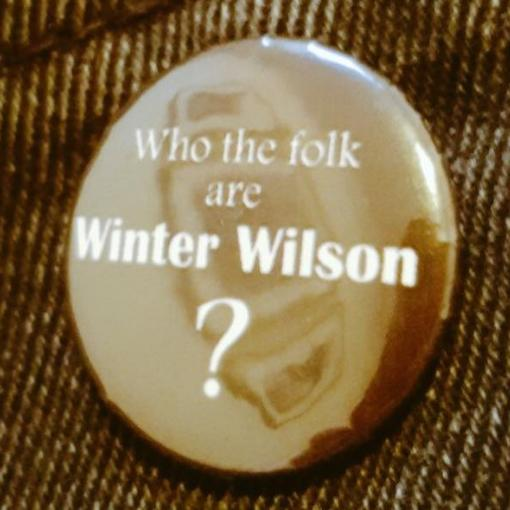 Who the folk are Winter Wilson badge